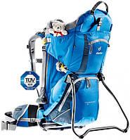 Практичный слинг-рюкзак для переноски детей до 22 кг DEUTER KID COMFORT 2, 36514 3033 синий