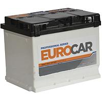 Аккумулятор 6СТ-62Ач. 600A. EUROCar
