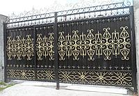 Ворота кованные, фото 1