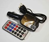 FM- модулятор A4 (AUX+micro+iP5) *2003