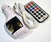 FM- модулятор A5 (AUX+micro+iP5) *2004