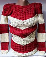 Женский свитер  акрил шерсть оптом