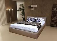 Кровать двухспальная Оливия кожзам