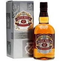 Виски Бленд Шотландия Чивас Ригал 12 лет  1л  Chivas Regal 12 years
