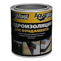 Мастика гидроизоляционная битумная холодная AquaMast 3 кг
