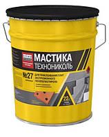Мастика приклеивающая ТехноНиколь №27 22 кг