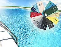 ПВХ-мембрана для бассейнов Texpool Unicolor Standard 1,5 мм (1.6 х 25 м) дикий мускус, темно-синий