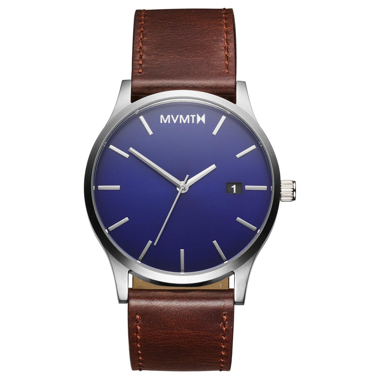 Часы мужские MVMT CLASSIC BLUE BROWN