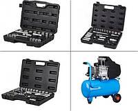 В продажу поступили новые наборы инструментов и компрессор