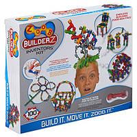 Конструктор ZOOB Набор изобретателя 100 деталей, ZOOB BuilderZ Inventor's Kit