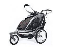 THULE Chariot Chinook 1 -  коляска и прицеп для велосипеда, цвет чёрный