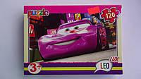 """Пазлы """"Тачки.Cars"""",120 ел,Leo Lux,230х165 мм.Детские пазлы Leо-""""Тачки.Cars"""", 120 елементов.Пазли """"Тачки.Cars"""""""
