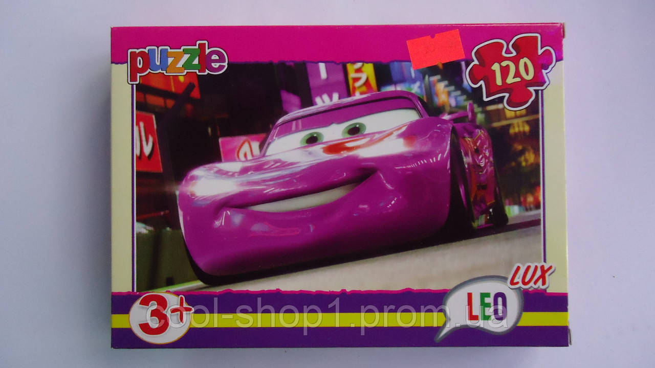 "Пазлы ""Тачки.Cars"",120 ел,Leo Lux,230х165 мм.Детские пазлы Leо-""Тачки.Cars"", 120 елементов.Пазли ""Тачки.Cars""  - Интернет-магазин ""Cool shop"" в Закарпатской области"