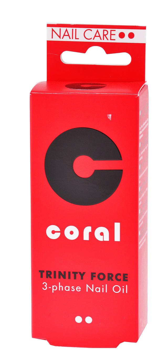 "Масло для ногтей 3х фазное ""Delia"" Coral (11ml)"