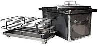 Коптильня из горячекатаного метала 2 мм (530х330х300)