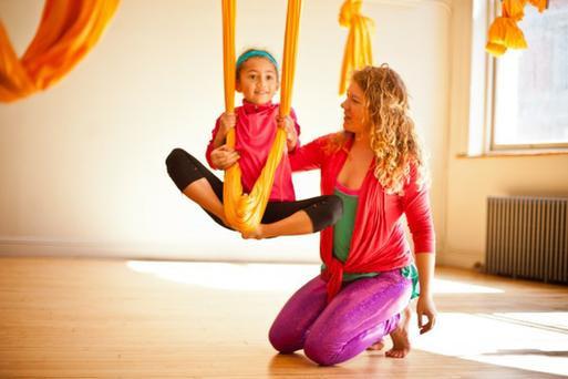 Курсы инструктора аэройоги для детей в школе Олимпия