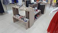 Приставной стол подиум для раскладки товара