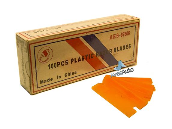 Пластикове лезо Plastic Razor Blades AES-87605, фото 2