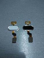 Сенсорная кнопка для Meizu M3s HOME mTouch (Белая, золотая)