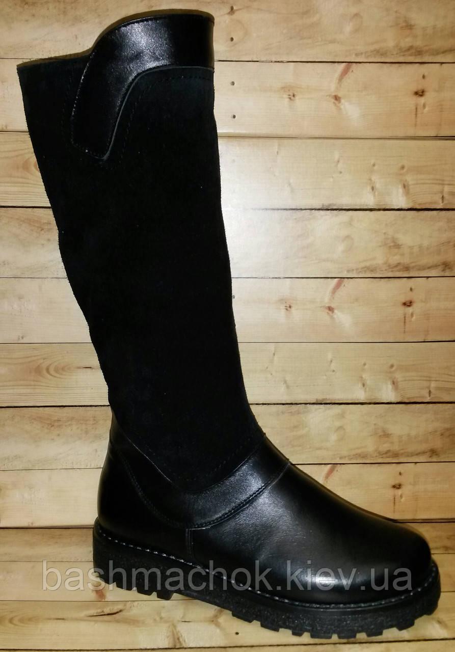 Кожаные зимние сапоги на шерсти Каприз размер 31 8490ea95f8dad