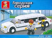 """Конструктор SLUBAN M 38 B 0323 Городская серия """"Лимузин"""""""