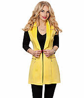 Жилетка желтая