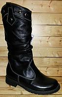 Детские зимние кожаные сапоги Kumi размер 31