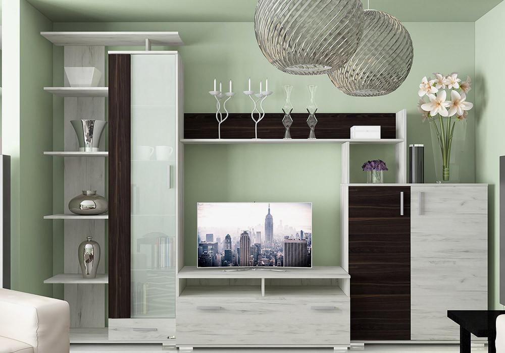 стенки в гостиную фото цены