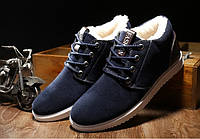 Зимние мужские кроссовки ботинки -  Искусс. замша ,подошва:  полиуретан , внутри искусств.овчина,р-ры: 41-44