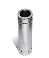 Труба дымоходная утеплённая нерж 0,5мм/оцинк 0,4мм Ø 120