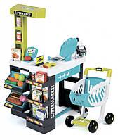 Интерактивный супермаркет с коляской Smoby 350206