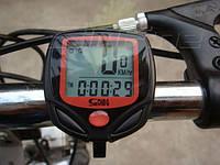 Портативный многофункциональный велосипедный одометр спидометр SunDING 2