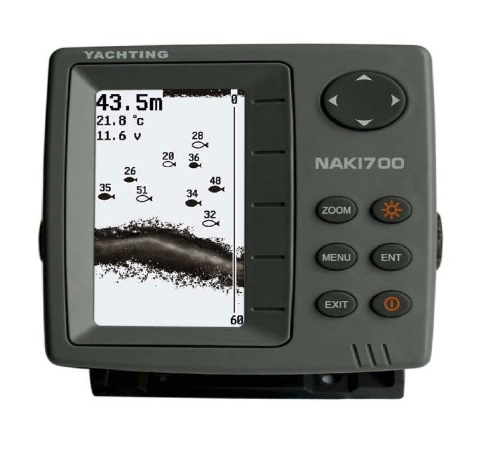 Эхолот Naki 710 двухлучевой