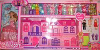 Большой дом с куклами и платьями