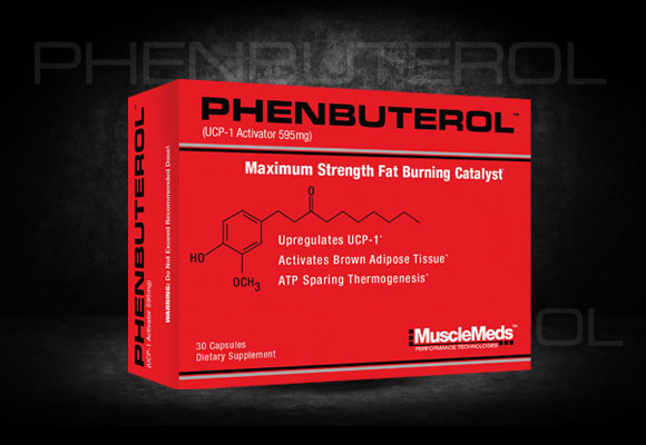 MUSCLEMEDS PHENBUTEROL	30caps