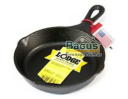 Сковорода чугунная порционная (d-15,5см, h-3,5см) с металлической ручкой Lodge (США) L3SK3
