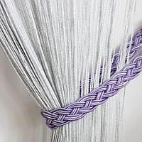 Люрекс №156 Белый / Серебро