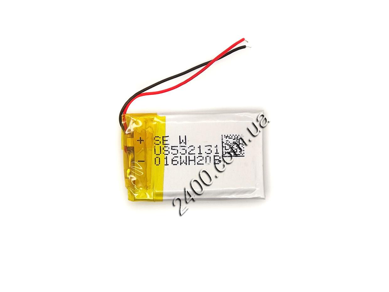 Акумулятор для відеореєстратора 300 маг (300mAh 3.7 v), іграшок, навушників, Bluetooth, сигналізації 552131