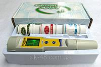 Водонепроницаемый PH метр и термометр- ручка.