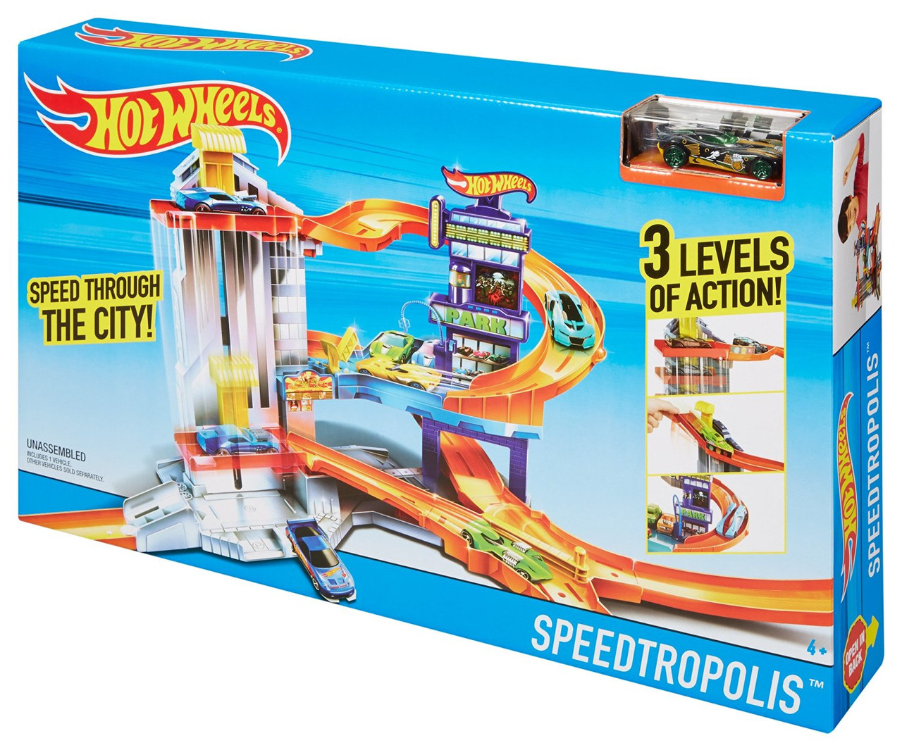 Трек Хот Вилз Город скорости  / Hot Wheels Speedtropolis