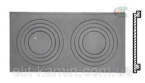 Чугунная плита Halmat P6 H2606 (650x385)