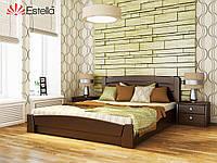 Деревянная кровать с подъемным механизмом «Селена Аури» МАССИВ