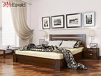 Деревянная кровать с подъемным механизмом «Селена» МАССИВ