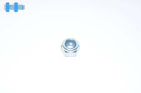 Гайка самоконтрящаяся М18 DIN 985 нержавеющая с нейлоновым кольцом