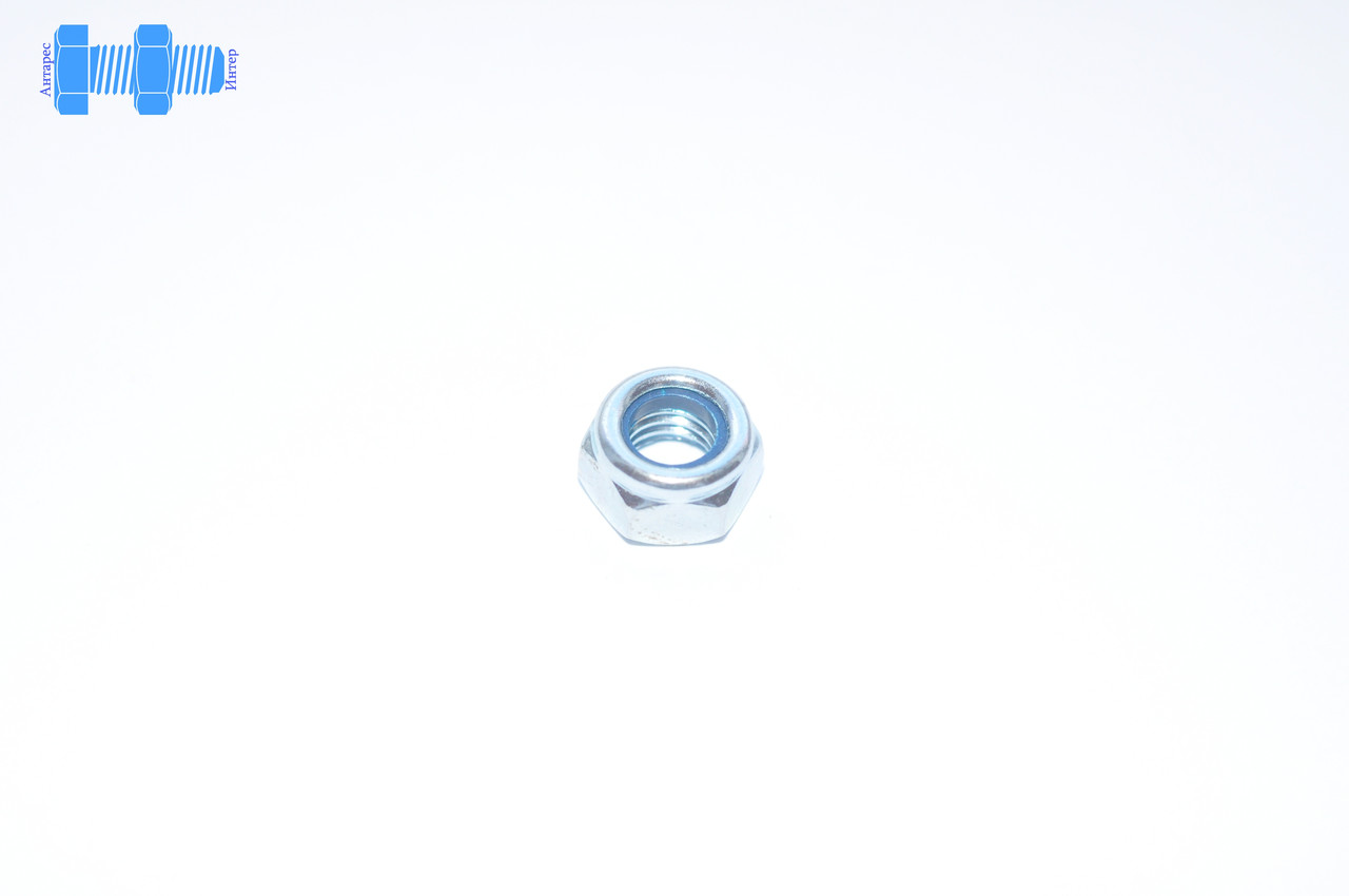 Гайка самоконтрящаяся М10 DIN 985 нержавеющая с нейлоновым кольцом - ООО АНТАРЕС-ИНТЕР в Тернопольской области