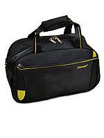 Мужская дорожная сумка саквояж нейлон 22806 20 Medium black