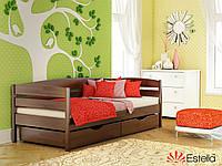 Деревянная Кровать «Нота Плюс» Эстелла (буковый щит)
