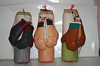 Боксерская груша с рукавицами (средняя) Фламинго /4/