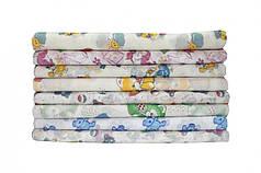 Ситцевая пеленка 90х110 для новорожденных в ассортименте