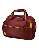 Мужская дорожная сумка саквояж нейлон 17501 18 Small bordo